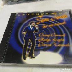 CDs de Música: CD LEGENDARIOS TOM JONES IT'S NOT UNUSUAL 2001. Lote 221869632