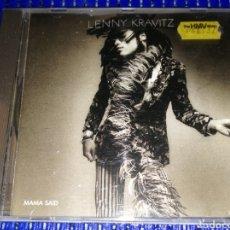 "CDs de Música: LENNY KRAVITZ ""MAMA SAID"". Lote 221875380"