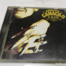 CDs de Música: CHULITO CAMACHO - 18 KILATES - CD. Lote 221877348