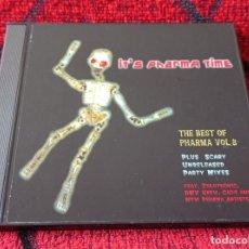 CDs de Música: IT'S PHARMA TIME (THE BEST OF VOL. 3) CD FEAT. ZULUTRONIC DMX KREW GIO4 KEROSENE. Lote 221881240