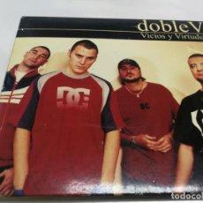 CDs de Música: VIOLADORE DEL VERSO DOBLE V VICIOS Y VIRTUDES 2001 POSTER. Lote 221882342