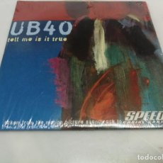 CDs de Música: CD SINGLE CARTON UB 40 TELL ME IS IT TRUE SPEED 2 PELICULA Y IT'S TRUE 2 TRACK 1997. Lote 221887373