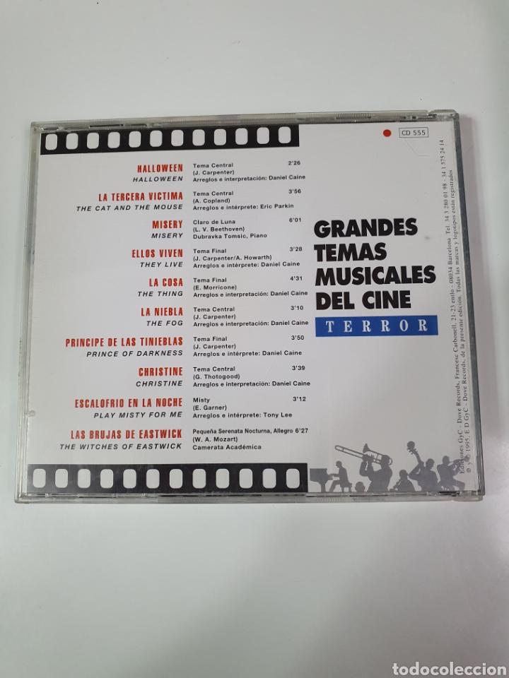 CDs de Música: Cd De Grandes Temas Musicales Del Cine, Terror, 100 Años De Cine, 17. - Foto 2 - 221896751