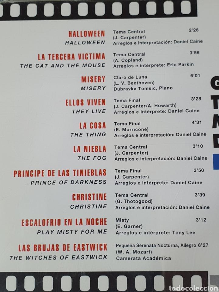 CDs de Música: Cd De Grandes Temas Musicales Del Cine, Terror, 100 Años De Cine, 17. - Foto 3 - 221896751