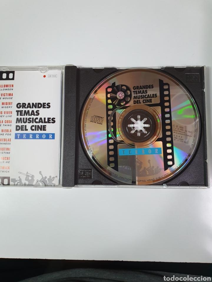CDs de Música: Cd De Grandes Temas Musicales Del Cine, Terror, 100 Años De Cine, 17. - Foto 4 - 221896751