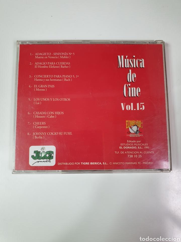 CDs de Música: Cd De Música De Cine Vol. 15. - Foto 3 - 221898371