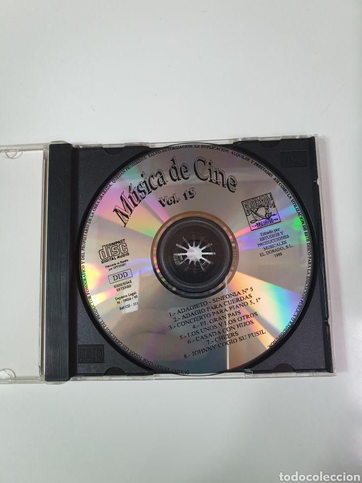 CDs de Música: Cd De Música De Cine Vol. 15. - Foto 5 - 221898371