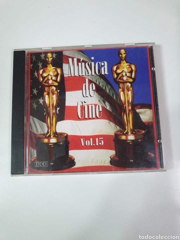 CD DE MÚSICA DE CINE VOL. 15. (Música - CD's Bandas Sonoras)