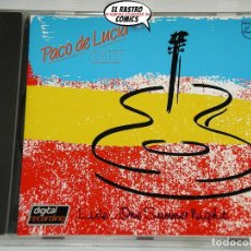 CDs de Música: PACO DE LUCÍA SEXTET, LIVE...ONE SUMMER NIGHT, CD PHILIPS – 822 540-2, 1984, MADE IN GERMANY. Lote 221900316
