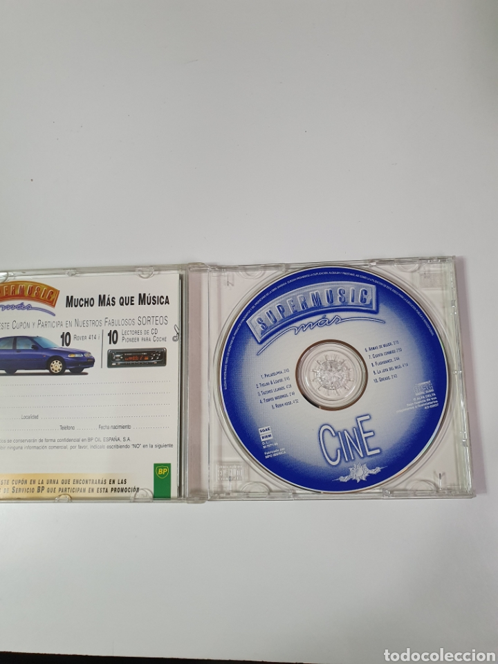 CDs de Música: Cd De Supermusic,Más, Cine Selección Musical Exclusiva. - Foto 4 - 221900705