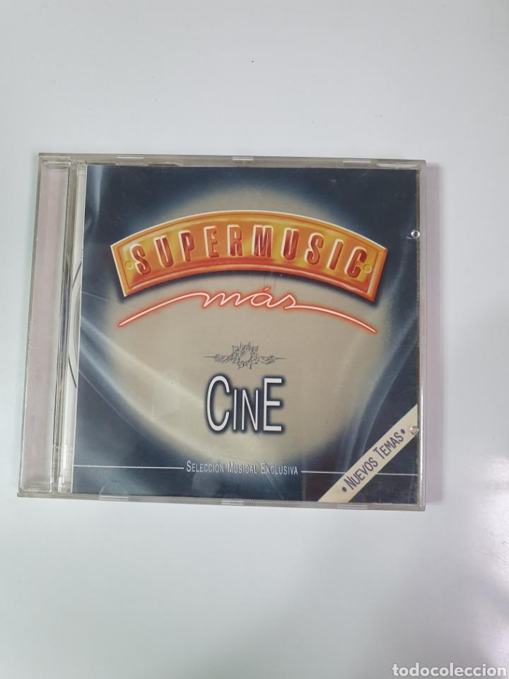 CD DE SUPERMUSIC,MÁS, CINE SELECCIÓN MUSICAL EXCLUSIVA. (Música - CD's Bandas Sonoras)