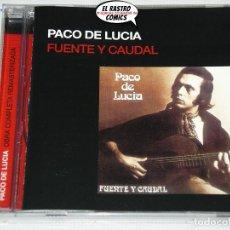 CDs de Música: PACO DE LUCÍA, FUENTE Y CAUDAL, CD. Lote 221901020