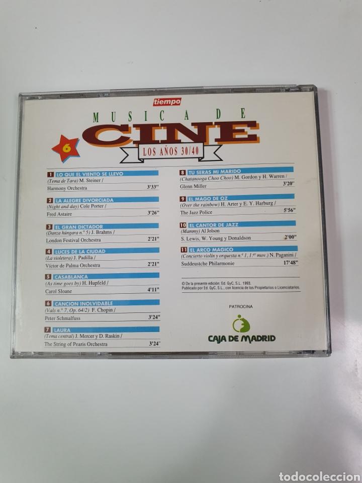 CDs de Música: Cd De Música De Cine, 6, Los Años 30 / 40. - Foto 2 - 221901240