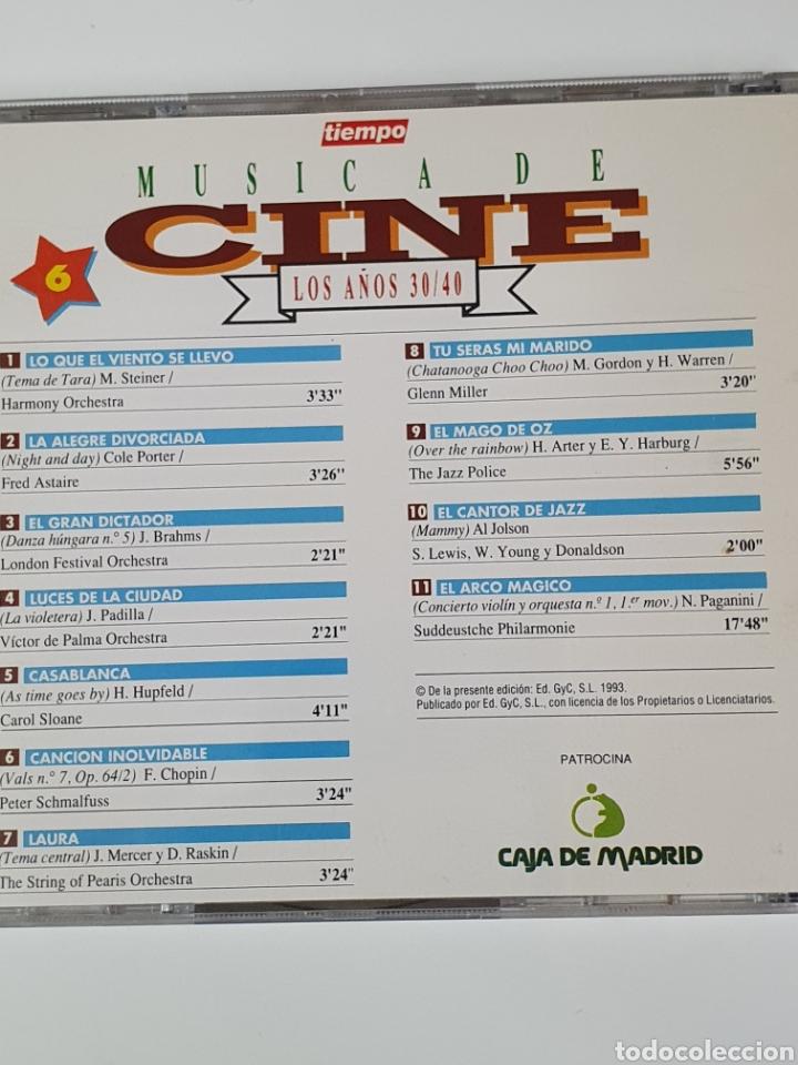 CDs de Música: Cd De Música De Cine, 6, Los Años 30 / 40. - Foto 3 - 221901240