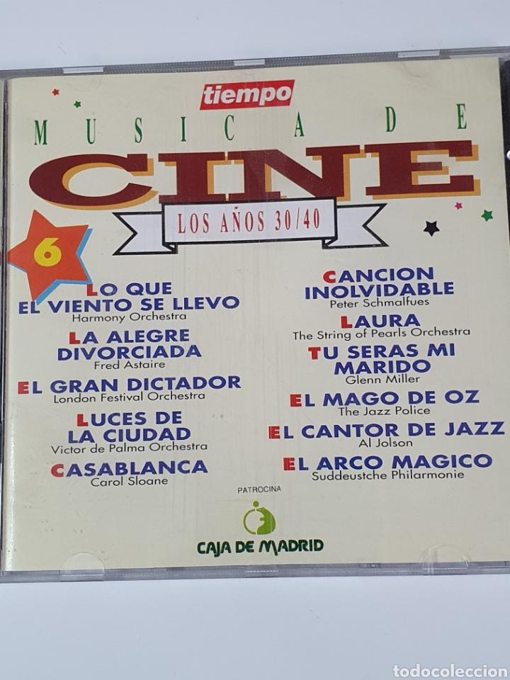CDs de Música: Cd De Música De Cine, 6, Los Años 30 / 40. - Foto 4 - 221901240