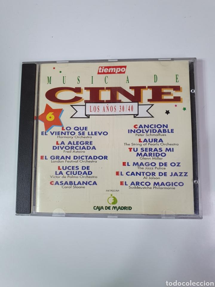 CD DE MÚSICA DE CINE, 6, LOS AÑOS 30 / 40. (Música - CD's Bandas Sonoras)