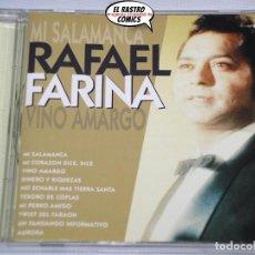CDs de Música: RAFAEL FARINA, CD DIVUCSA, 2002, MI SALAMANCA, VINO AMARGO, MI PERRO AMIGO...ÉXITOS. Lote 221902971