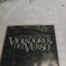 CDs de Música: VIOLADORES DEL VERSO- VIVIR PARA CONTARLO / HACIENDO LO NUESTRO CD MAXI. Lote 221907630