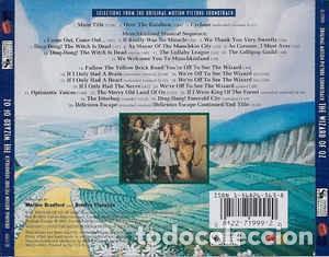 CDs de Música: El mago de Oz. .THE wizard of Oz Cd original usa - Foto 2 - 221911878