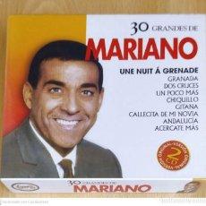 CDs de Música: LUIS MARIANO (30 GRANDES DE MARIANO) 2 CD'S * PRECINTADO. Lote 221923758