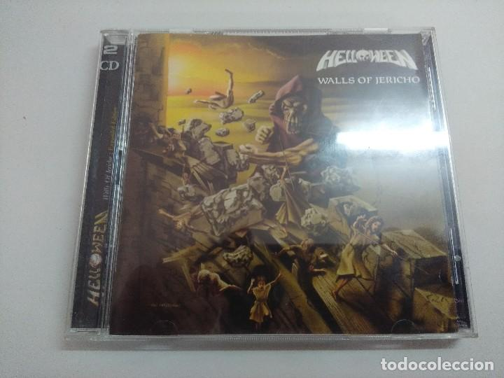 CD METAL/HELLOWEEN/WALLS OF JERICHO/DOBLE DC. (Música - CD's Heavy Metal)