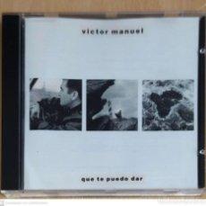 CDs de Música: VICTOR MANUEL (QUE TE PUEDO DAR) CD 1988. Lote 221926696
