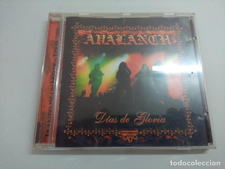 CD METAL/AVALANCH/DIAS DE GLORIA. (Música - CD's Heavy Metal)