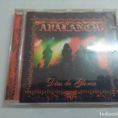 CDs de Música: CD METAL/AVALANCH/DIAS DE GLORIA.. Lote 221927596