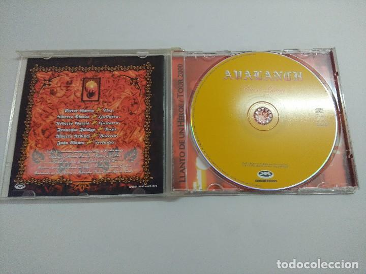 CDs de Música: CD METAL/AVALANCH/DIAS DE GLORIA. - Foto 2 - 221927596