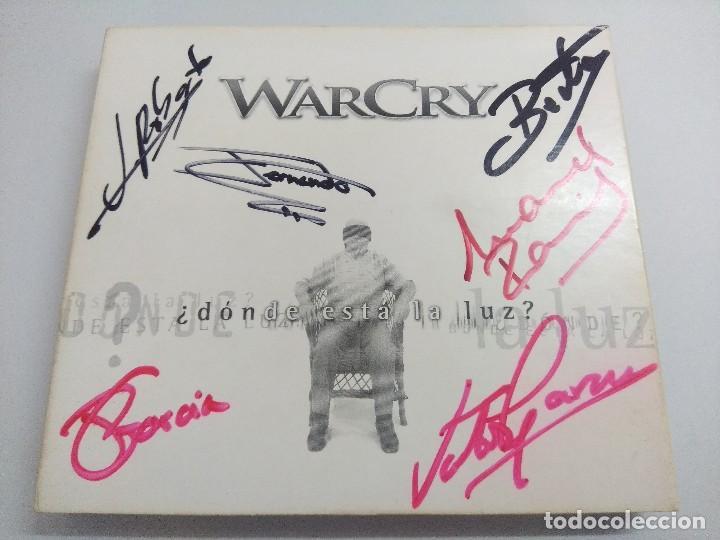 CD + DVD METAL/WARCRY/DONDE ESTA LA LUZ/FIRMADO¡¡¡¡¡¡¡. (Música - CD's Heavy Metal)