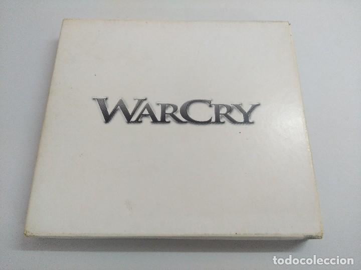 CDs de Música: CD + DVD METAL/WARCRY/DONDE ESTA LA LUZ/FIRMADO¡¡¡¡¡¡¡. - Foto 2 - 221928303