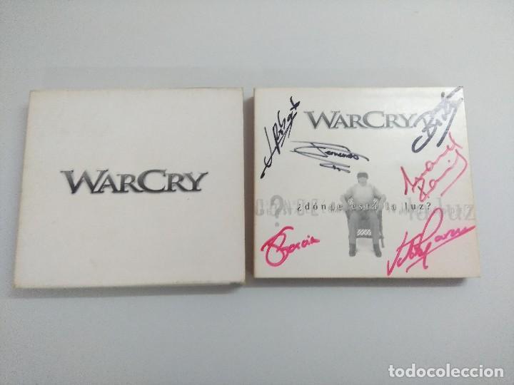 CDs de Música: CD + DVD METAL/WARCRY/DONDE ESTA LA LUZ/FIRMADO¡¡¡¡¡¡¡. - Foto 4 - 221928303