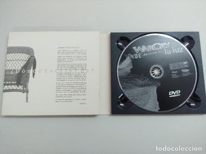 CDs de Música: CD + DVD METAL/WARCRY/DONDE ESTA LA LUZ/FIRMADO¡¡¡¡¡¡¡. - Foto 5 - 221928303