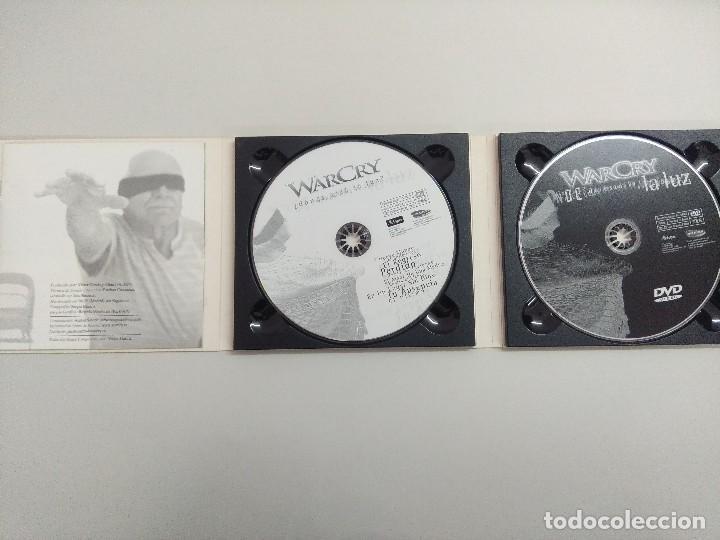 CDs de Música: CD + DVD METAL/WARCRY/DONDE ESTA LA LUZ/FIRMADO¡¡¡¡¡¡¡. - Foto 6 - 221928303