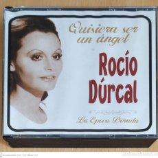 CDs de Música: ROCIO DURCAL (QUISIERA SER UN ANGEL - LA EPOCA DORADA) 3 CD'S 2006. Lote 221932077