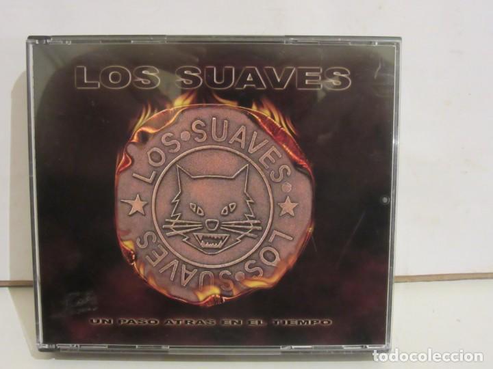 LOS SUAVES - UN PASO ATRAS EN EL TIEMPO - 2 X CD - 2002 - SPAIN - COMPLETO - NM+/EX+ (Música - CD's Rock)