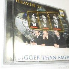 CDs de Música: CD HEAVEN 17. BIGGER THAN AMERICA. WARNER 1996 GERMANY 12 TEMAS (BUEN ESTADO). Lote 221960908