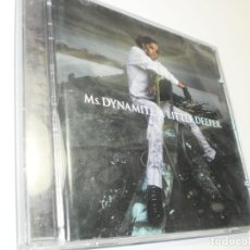 CDs de Música: CD MS DYNAMITE. LITTLE DEEPER. POLYDOR 2002 UK 15 TEMAS (BUEN ESTADO). Lote 221961448