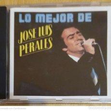 CDs de Música: JOSE LUIS PERALES (LO MEJOR DE JOSE LUIS PERALES) CD 1987. Lote 221961456