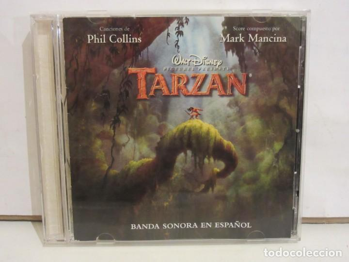 TARZAN - BSO ESPAÑOL - PHIL COLLINS / MARK MANCINA - CD - 1999 - SPAIN - VG+/VG+ (Música - CD's Bandas Sonoras)