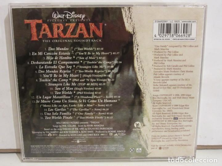 CDs de Música: Tarzan - BSO Español - Phil Collins / Mark Mancina - CD - 1999 - Spain - VG+/VG+ - Foto 2 - 221963867