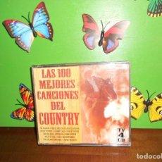 CDs de Música: LAS 100 MEJORES CANCIONES DEL COUNTRY - 4 CDS. Lote 221969851