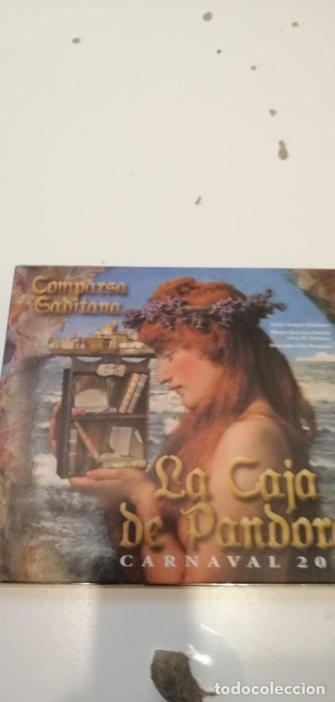 G-46 CD MUSICA CARNAVAL DE CADIZ COMPARSA LA CAJA PANDORA (Música - CD's Flamenco, Canción española y Cuplé)