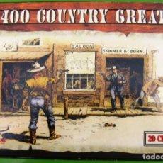 CDs de Música: 400 COUNTRY GREATEST (BOX) LOTE DE 20 CD CON LOS GRANDES ÉXITOS DEL COUNTRY. Lote 221979611