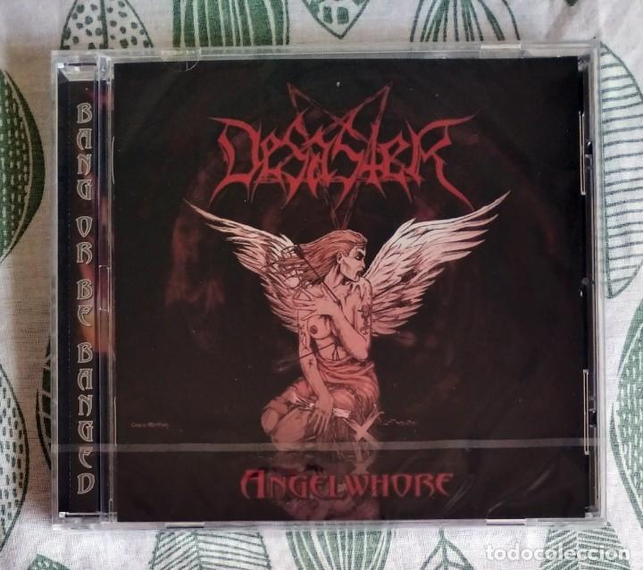 DESASTER - ANGELWHORE CD NUEVO Y PRECINTADO - BLACK METAL THRASH METAL (Música - CD's Heavy Metal)