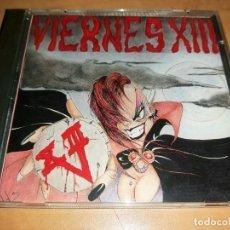 CDs de Música: VIERNES XIII CD 1ST SPANISH PUNK 1994-CICATRIZ-KORTATU-LA POLLA-GERMENES-VOMITO-BARRICADA-PARABELLUM. Lote 221980543