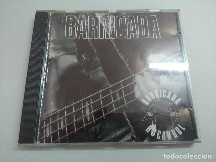 CD ROCK/BARRICADA/ROCANROL. (Música - CD's Heavy Metal)