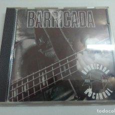 CDs de Música: CD ROCK/BARRICADA/ROCANROL.. Lote 221984958