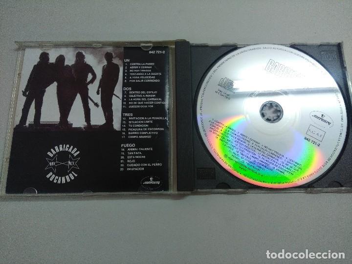 CDs de Música: CD ROCK/BARRICADA/ROCANROL. - Foto 2 - 221984958