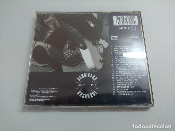 CDs de Música: CD ROCK/BARRICADA/ROCANROL. - Foto 3 - 221984958